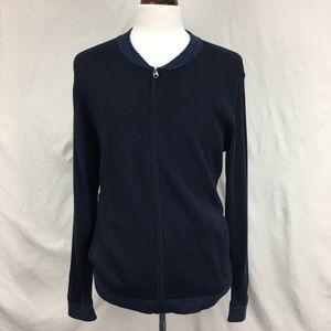 Calvin Klein Navy/Blue Sweater Cardigan Sweater